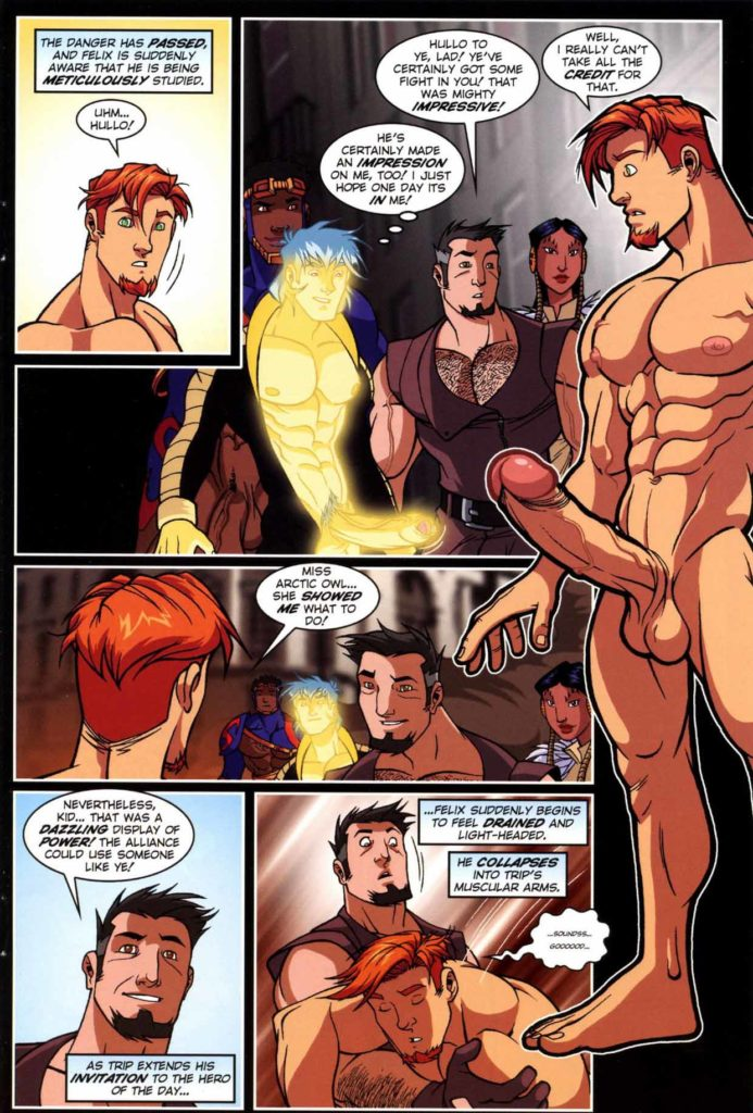 cartoon gay comic porn